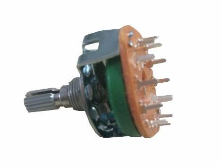 30mm Metal Shaft Rotary Switch